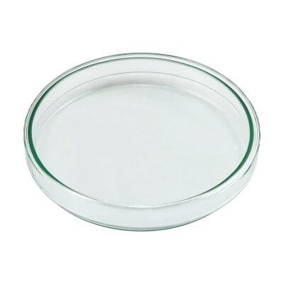 Petrischale aus Glas, Durchmesser 12 cm